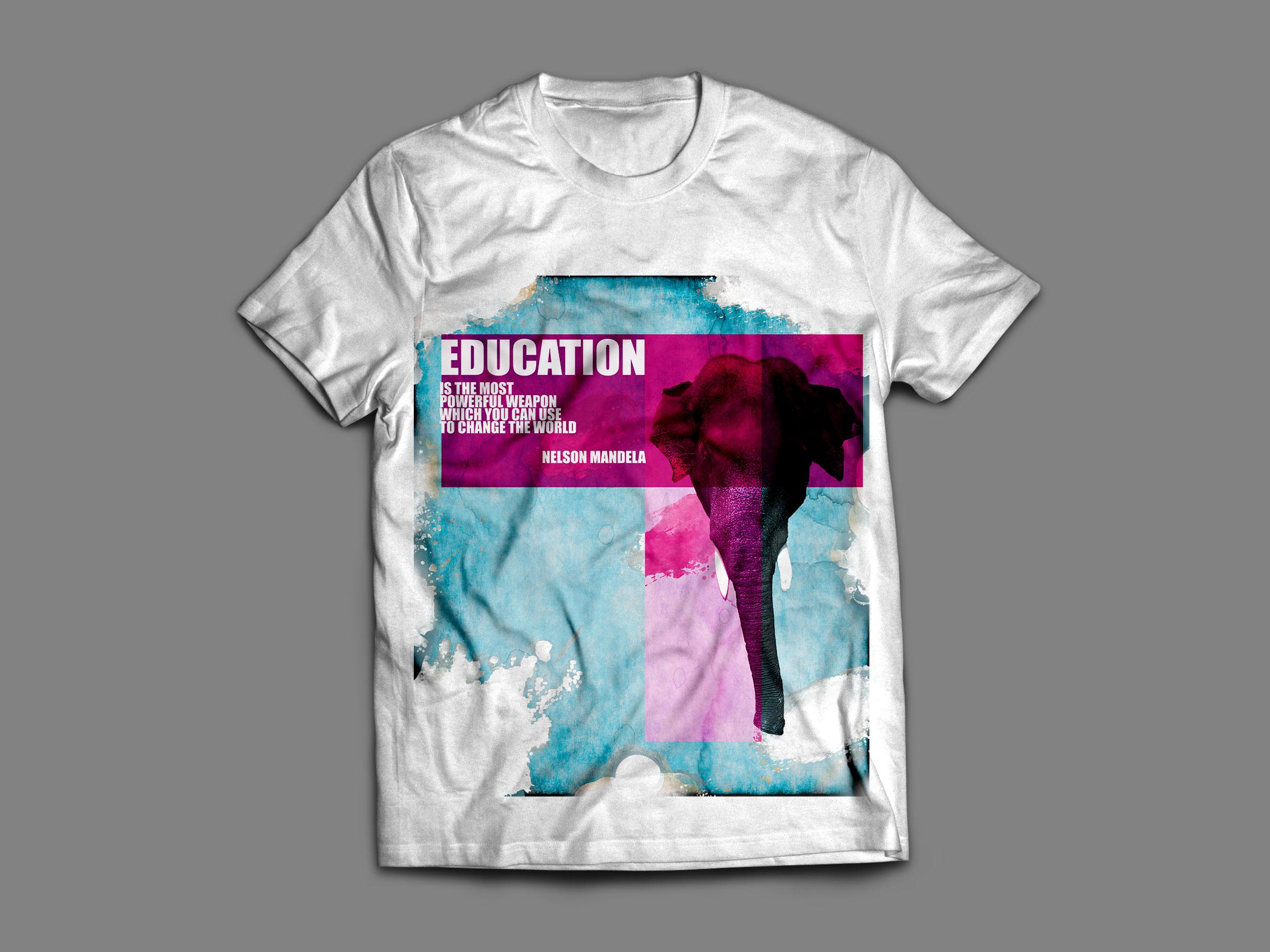 education, le t-shirt