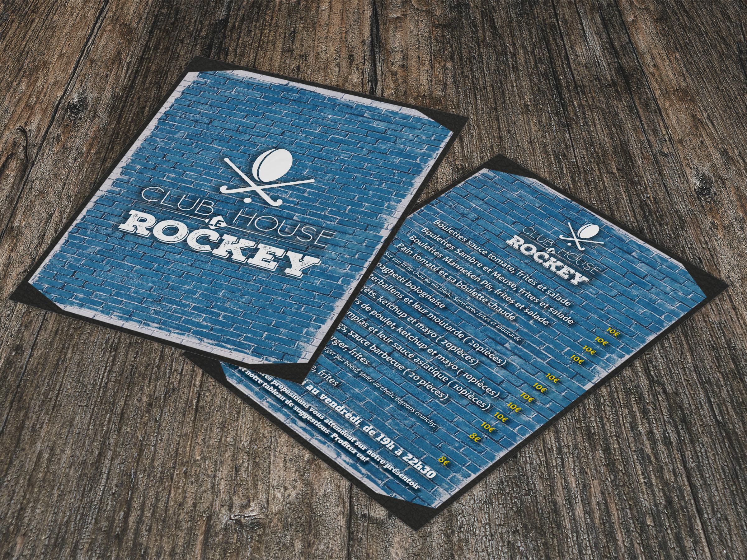 menu du Rockey