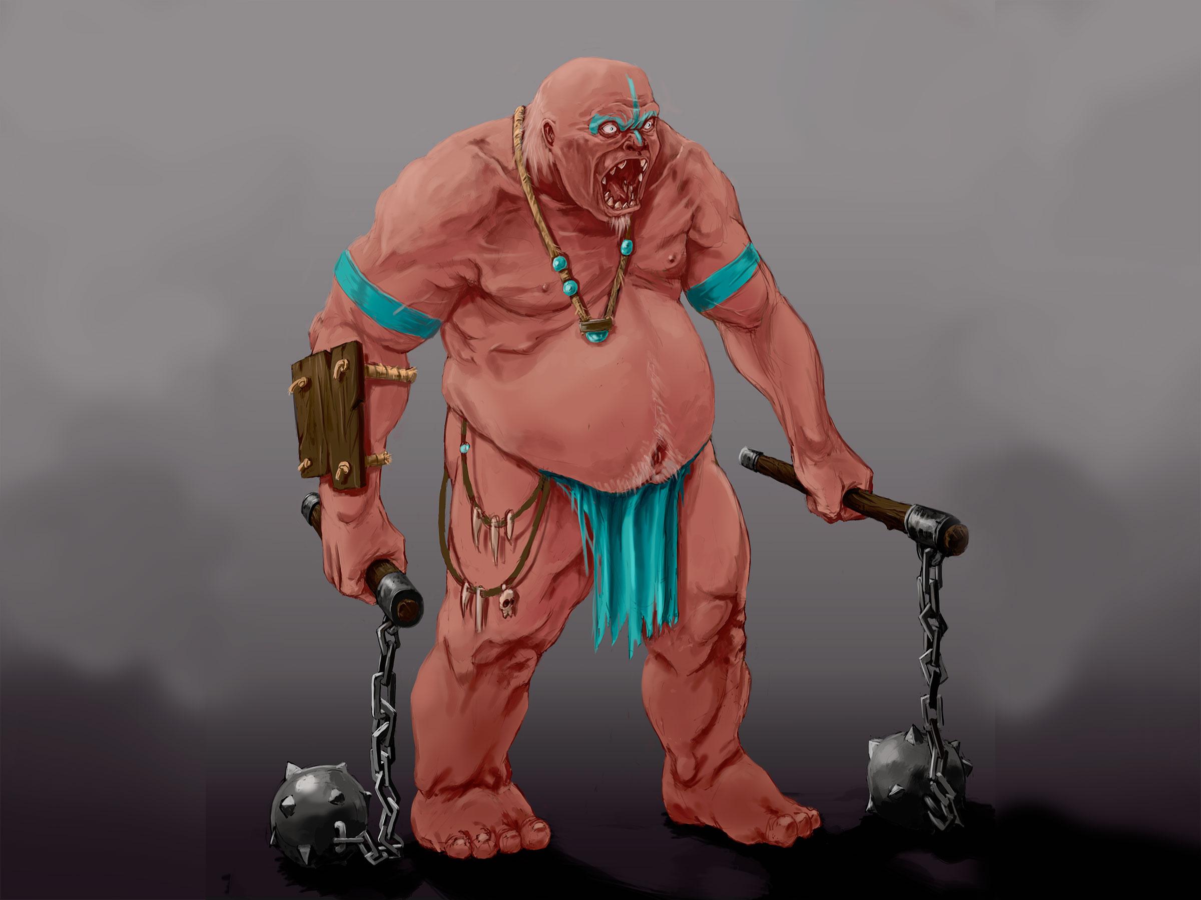 illustration d'un Ogre