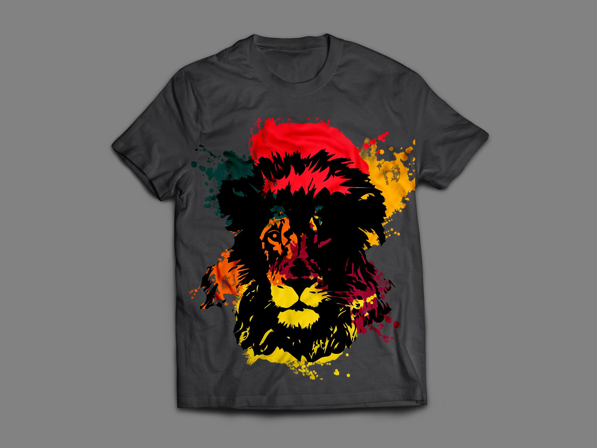 Lion2, le t-shirt